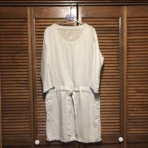 Current/Elliott Lyocell/Linen Dress